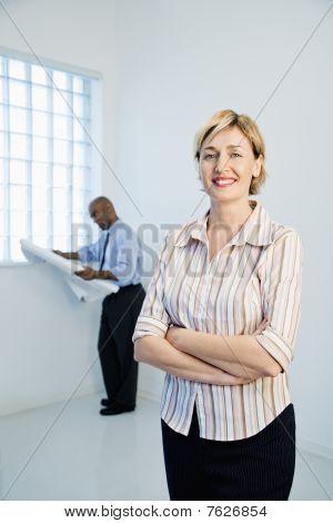 Architekt Frau