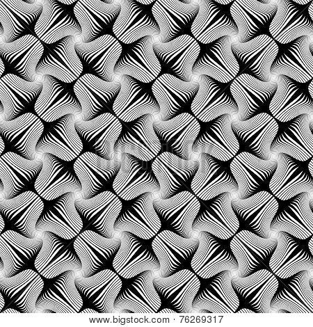 Design Seamless Striped Geometric Pattern