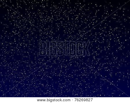 vector night sky