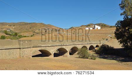 Aqueduct  in irrigation system