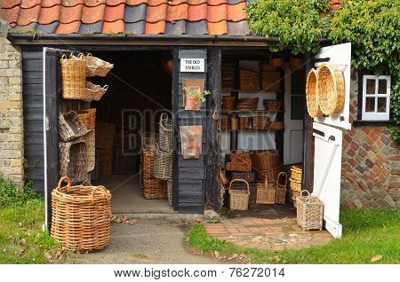 The basket  makers store