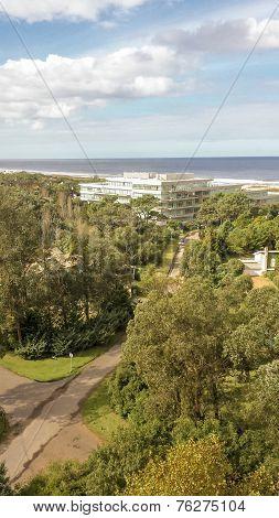 Aerial View Of Punta Del Este
