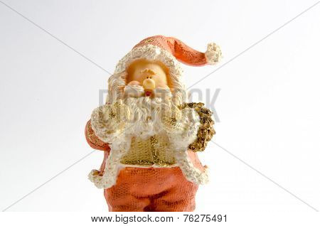 Statuette of Santa Claus (Christmas theme)