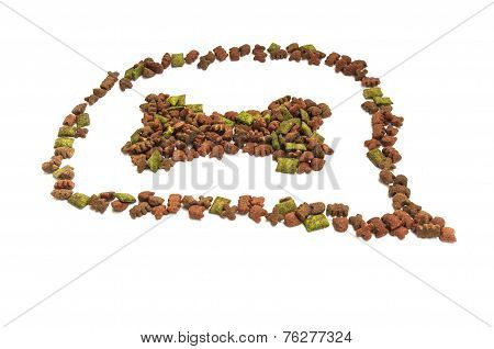 Dried food for dog/puppy or cat