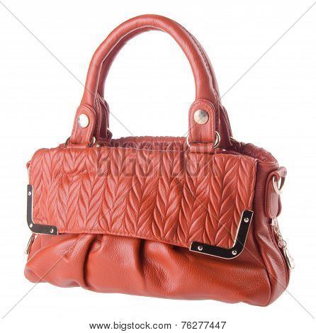 Women Bag On Background