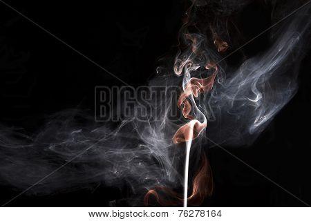 Phoenix in smoke