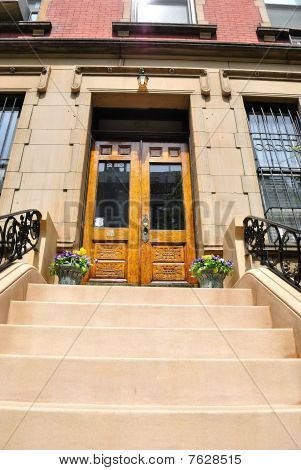 Brownstone Entrance