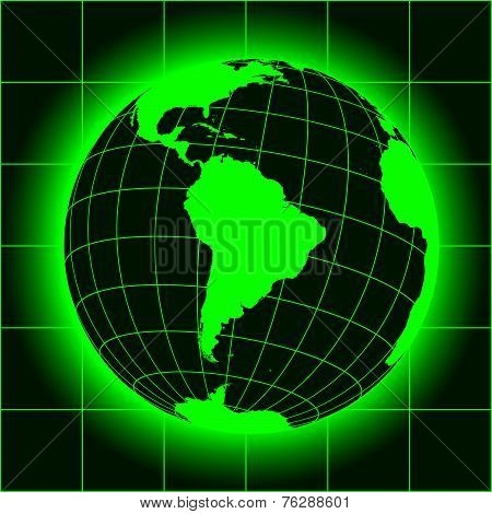 South America Green