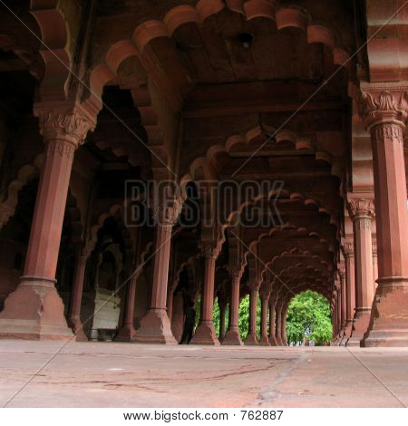 Red Fort arcade