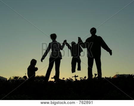 family of four sundown 2