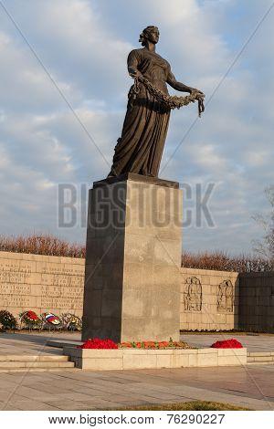 Saint Petersburg. Piskarevskoe Memorial Cemetery