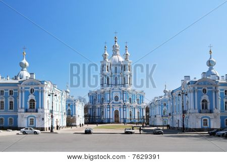 St. Petersburg. Smolny Cathedral And Convent