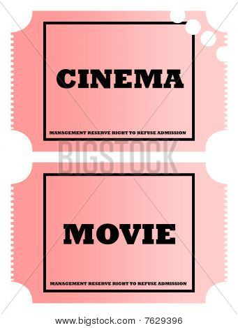 Cinema And Movie Tickets