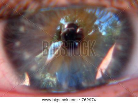 Photographer in the eye