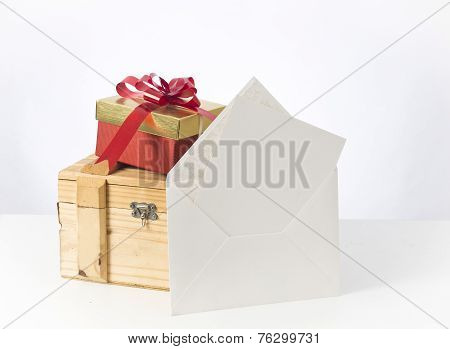 Gift Box and note