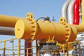 stock photo of oilfield  - In oil field - JPG