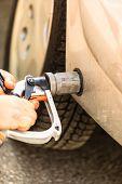 stock photo of fill  - Auto refuel - JPG