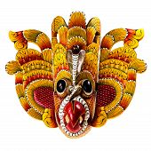image of primitive  - The Sri Lankan Flower Bird Devil  - JPG