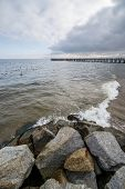 picture of polonia  - View on pier in Orlowo district in Gdynia Poland - JPG