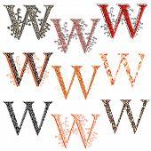 foto of fishnet  - Set of variations fishnet  - JPG