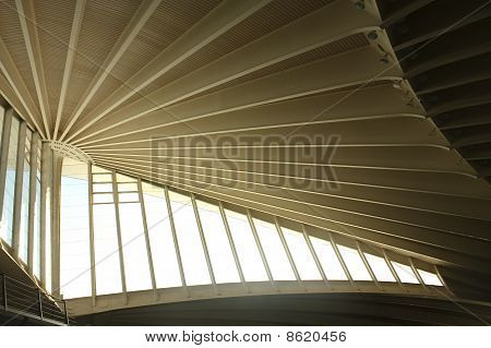 Roof Airport Bilbao, Spain
