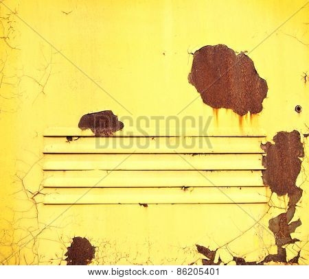 Yellow grunge texture and background for your design
