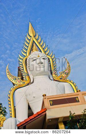 White Buddha In Nakhonnayok