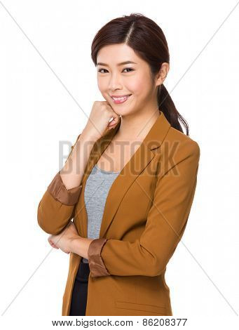 Beautiful asian businesswoman