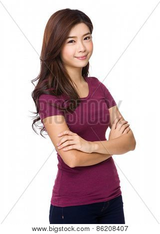 Portrait of attractive asian woman