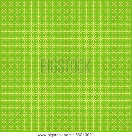 Green Seamless Polka Dot Background. Abstract Image.