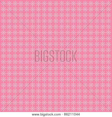Pink Polka Dot Background.