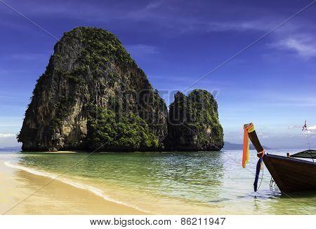 Happy Island On Phra Nang Beach