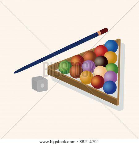 Billiards Theme Elements