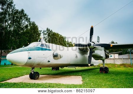 Russian Freighter Aircraft Plane AN-26