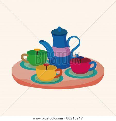 Amusement Park Facilities Theme Elements -  Tea Cup Ride