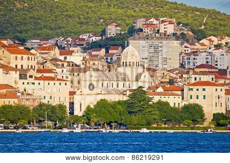 Sibenik Cathedral And Waterfront View