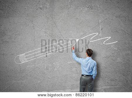 Man designer
