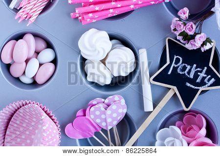 celebration time, party preparation