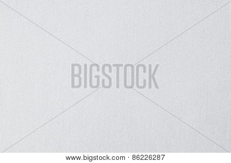 detailed texture of a white fabric