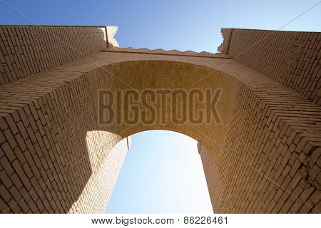 One of the gates of Babylon
