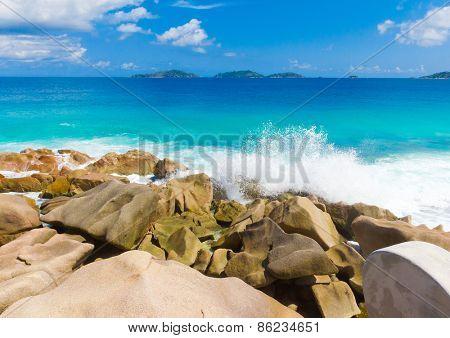 Seascape Shore Scene