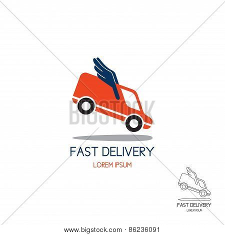 Logo Of Fast Delivery