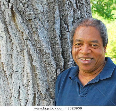 Hombre afroamericano