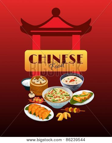 Asian Food Poster