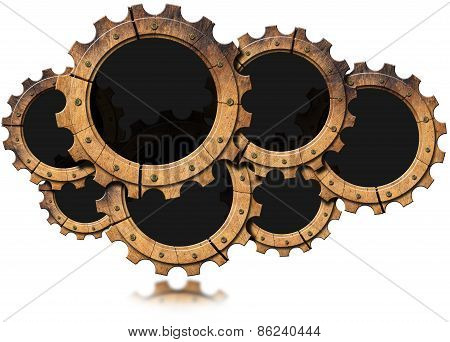 Cloud - Wooden Gears