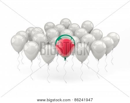 Air Balloons With Flag Of Bangladesh
