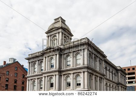 Customs House In Portland