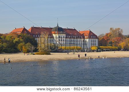 Grand Hotel on the Baltic Sea, Poland