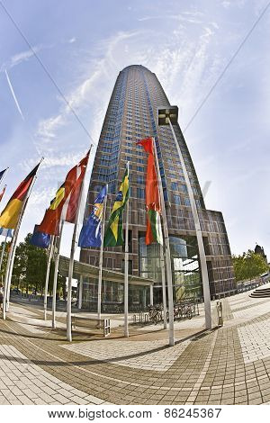 Messeturm - Fair Tower Of Frankfurt