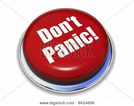 "Red ""Don't Panic"" Button"